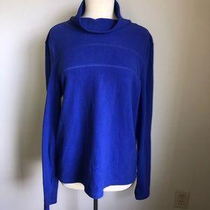 Victoria's Secret VSX Sport Blue Fleece Pullover
